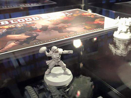 Blood Bowl 2016 board game miniatures