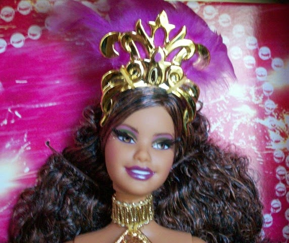 Face of Festivals of The World Carnival Barbie