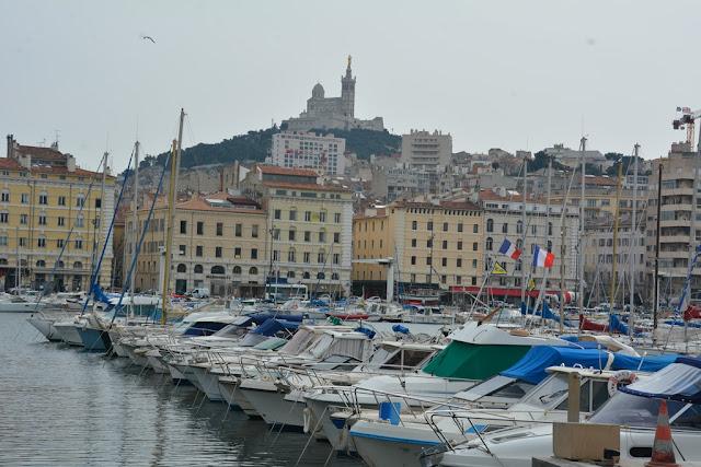 Vieux Port Marseille boats