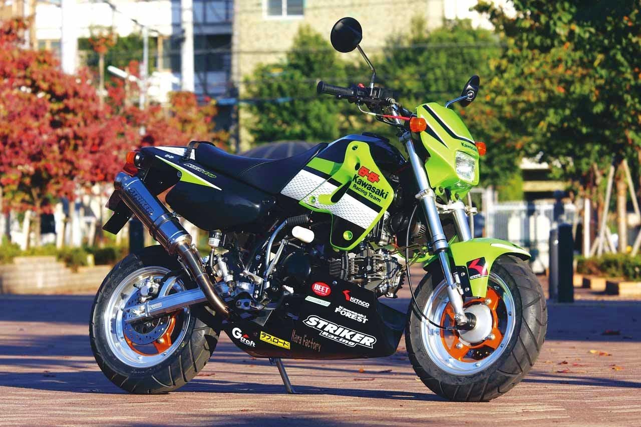 Foto Modifikasi Kawasaki KSR 110