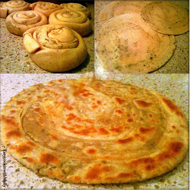 Lachha Paratha - Multi-layer Flatbread