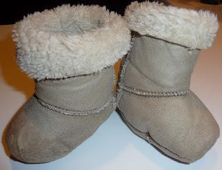 jak zrobić buciki dla niemowlaka