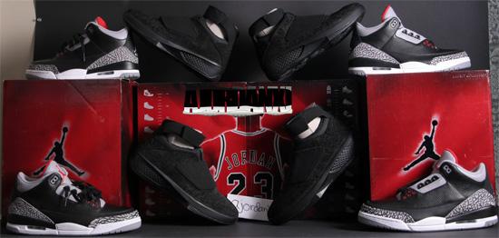 new concept c48f3 a97bd Air Jordan III XX Collezione Pack Multi-Color Multi-Color (2008)