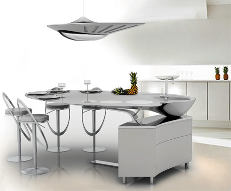 design interieur france incroyable dessins cuisine futuriste. Black Bedroom Furniture Sets. Home Design Ideas