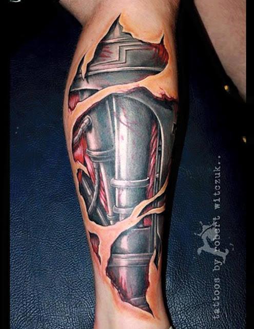 Tatto Tubuh yang Paling Keren yang Pernah di buat-4