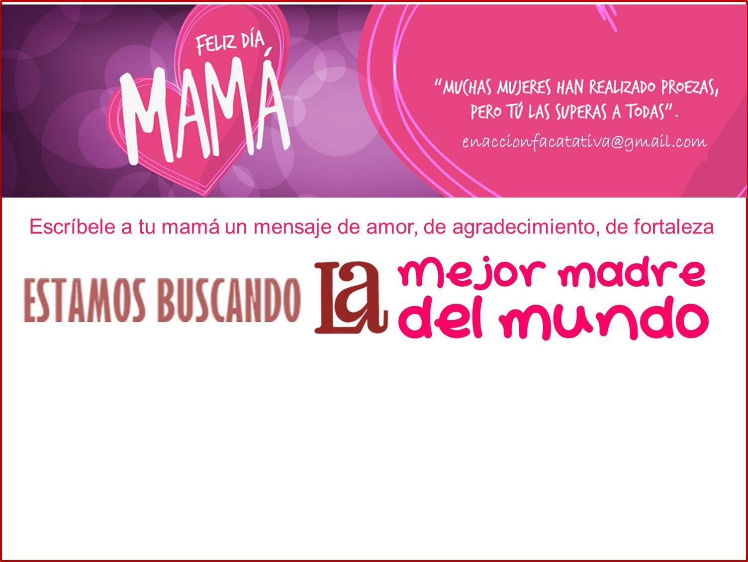 Felicidades mamitas