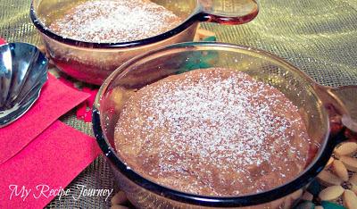 Skinny Chocolate Banana Souffle