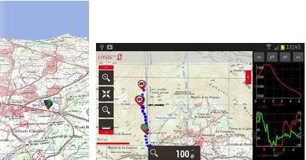 GPS CARTOGRAFICO PORTATILE PER SMARTPHONE E TABLET ANDROID