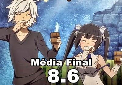 Média Final: 8.6