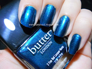 Butter London Bluey
