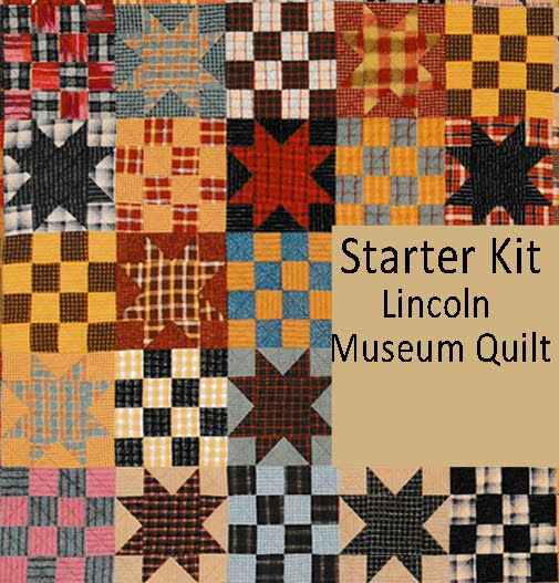 LINCOLN MUSEUM QUILT: Starter Fabric Kit