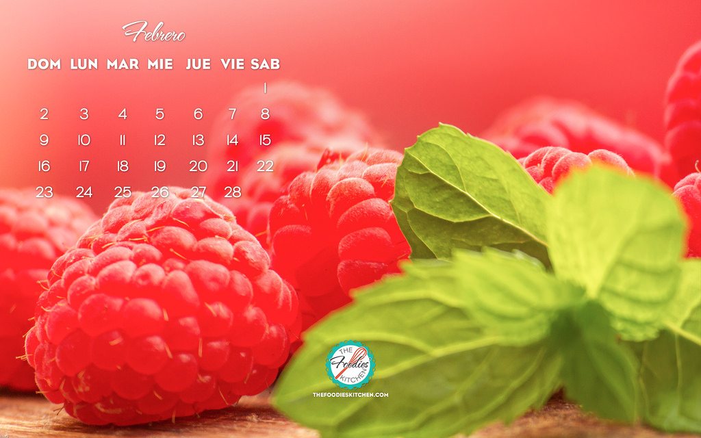 Foodies Freebie February 2014 Wallpaper Collection