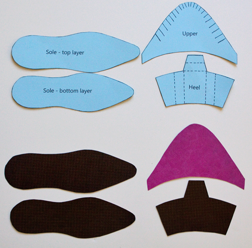 templates on pinterest templates card templates and With how to make paper shoes templates