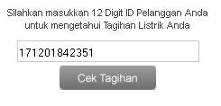 Cek Tagihan PLN dan Tagihan Listrik Online