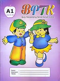 toko buku rahma: buku BPTK A1(Buku Pendamping Taman Kanak-kanan), pengarang tim romiz asiy, penerbit ra