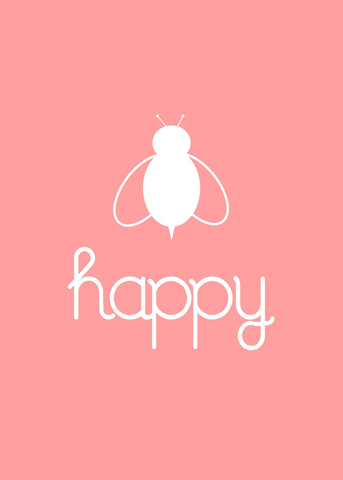 Be (bee) happy