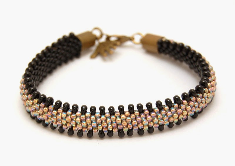 bransoletka koralikowa bead crochet bracelet inati zare 21