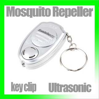 Ultrasonic Insect Mosquito Repeller Killer Pest Electronic Insecticide Keychain