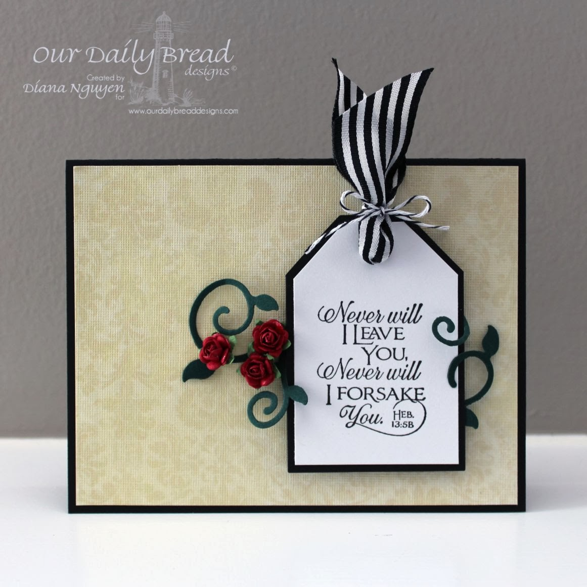 Diana Nguyen, CAS, Our Daily Bread Designs, handmade cards, scripture