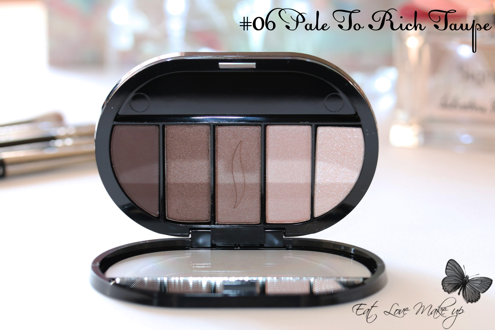 Sephora Colorful 5 Eyeshadow Palette Pale To Rich Taupe