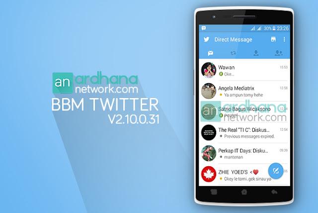 BBM Twitter V2.10.0.31