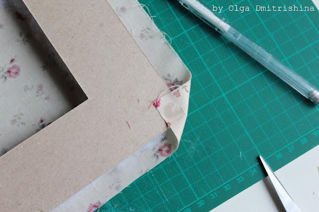 Рамка из картона для вышивки своими руками мастер класс 39