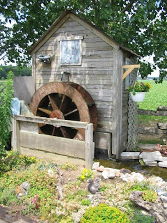 Undershot waterwheel on small creek