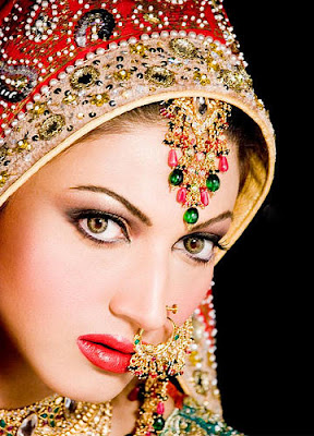 Indian Bridal Makeup Wear Hairstyles Dresses Jewellery ...