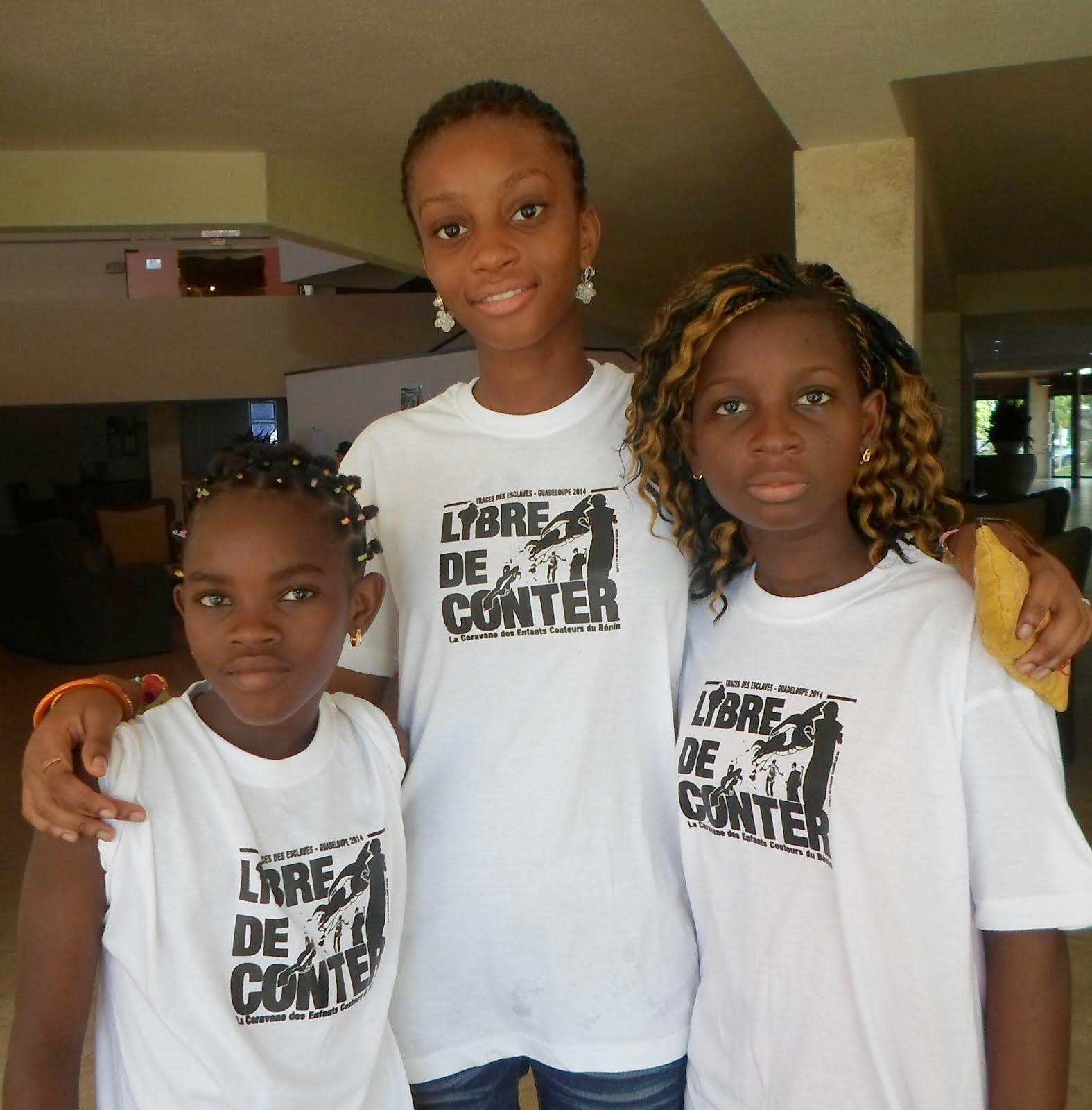 La caravane des enfants conteurs du Bénin