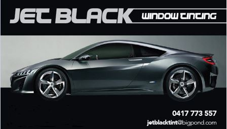 Jet Black - Custom Window Tinting