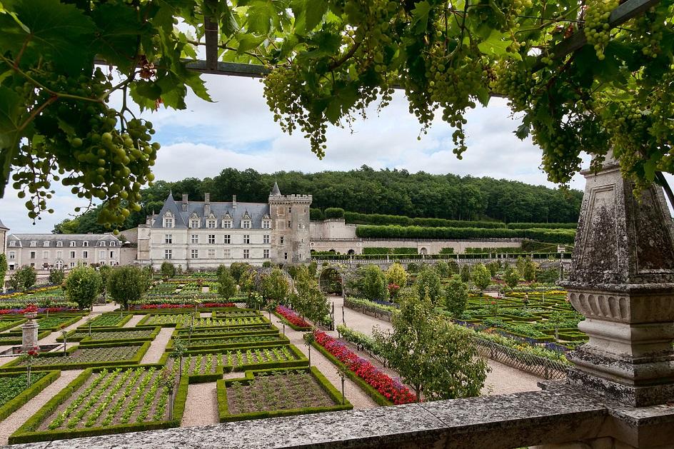 19c american women spectacular renaissance gardens a for Jardin villandry