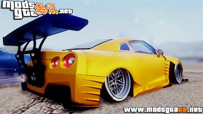 SA - Nissan GT-R R35