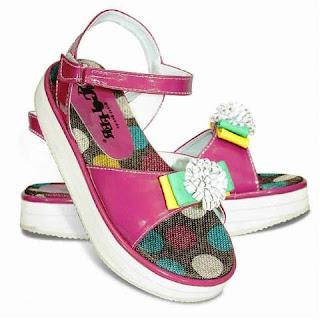 Contoh Model Sepatu Sandal Anak Perempuan