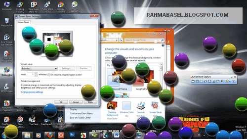 Screensaver Windows 7