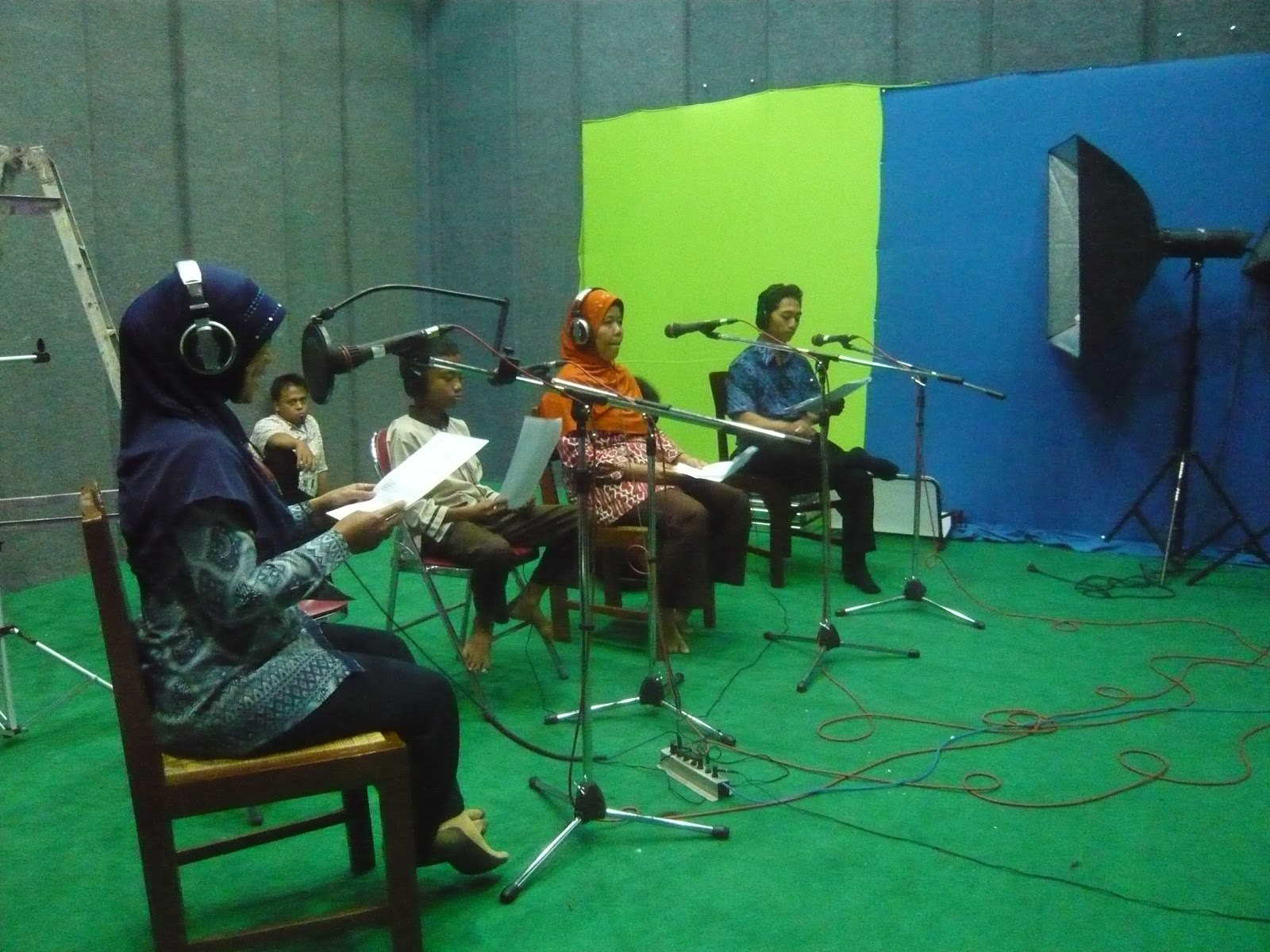 Rekaman Radio Streaming di BTKP-DIY