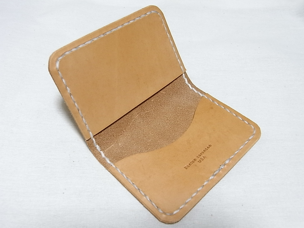 Kenton Sorenson Leather Natural Wallet