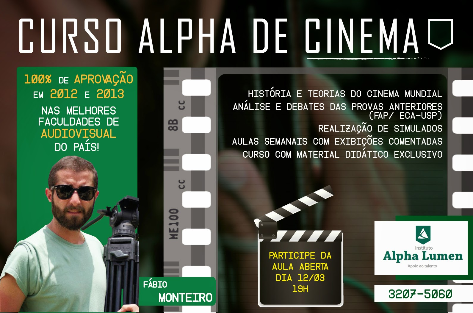 Curso Alpha de Cinema