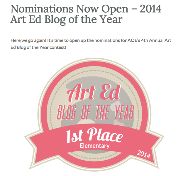 http://www.theartofed.com/2015/01/11/nominations-now-open-2014-art-ed-blog-of-the-year/?utm_source=rss&utm_medium=rss&utm_campaign=nominations-now-open-2014-art-ed-blog-of-the-year
