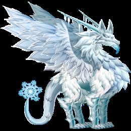 imagen del dragon escarcha de dragon city