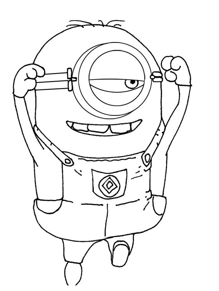 Despicable Me coloring book