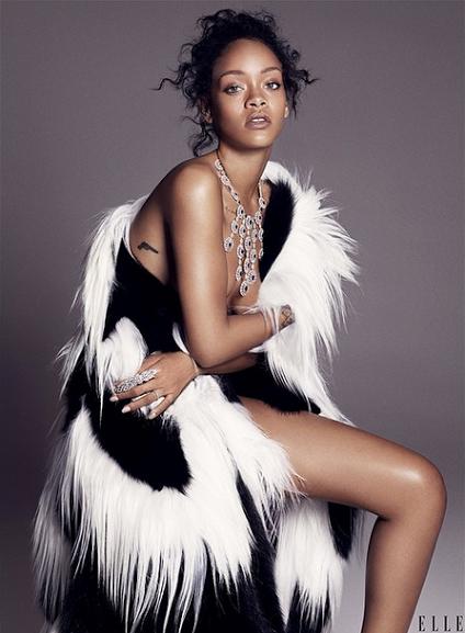Rihanna Elle US 2014