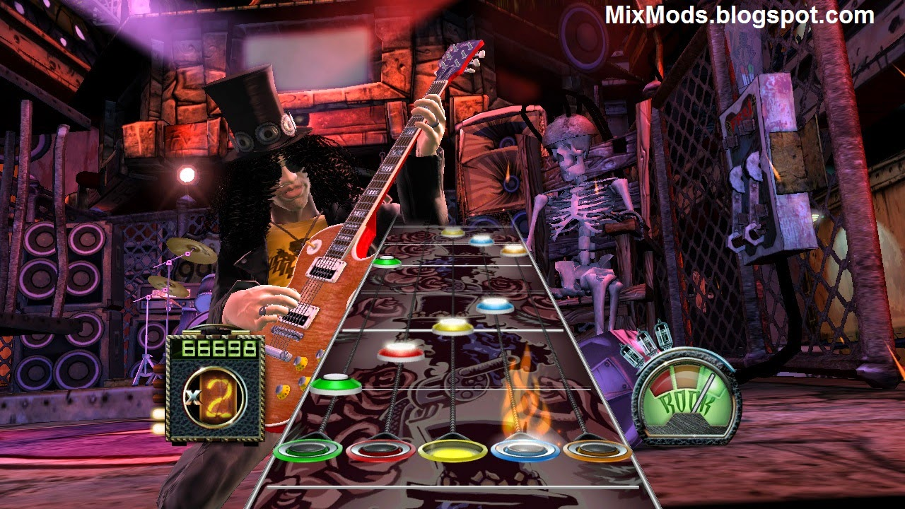how to play guitar hero 3 on pc