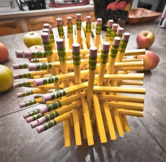 Как сделать фигурки из карандашей