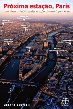 """livro """"Próxima estação, Paris"""""""