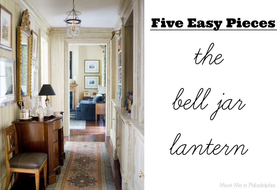 five easy pieces: the bell jar lantern via Meet Me in Philadelphia