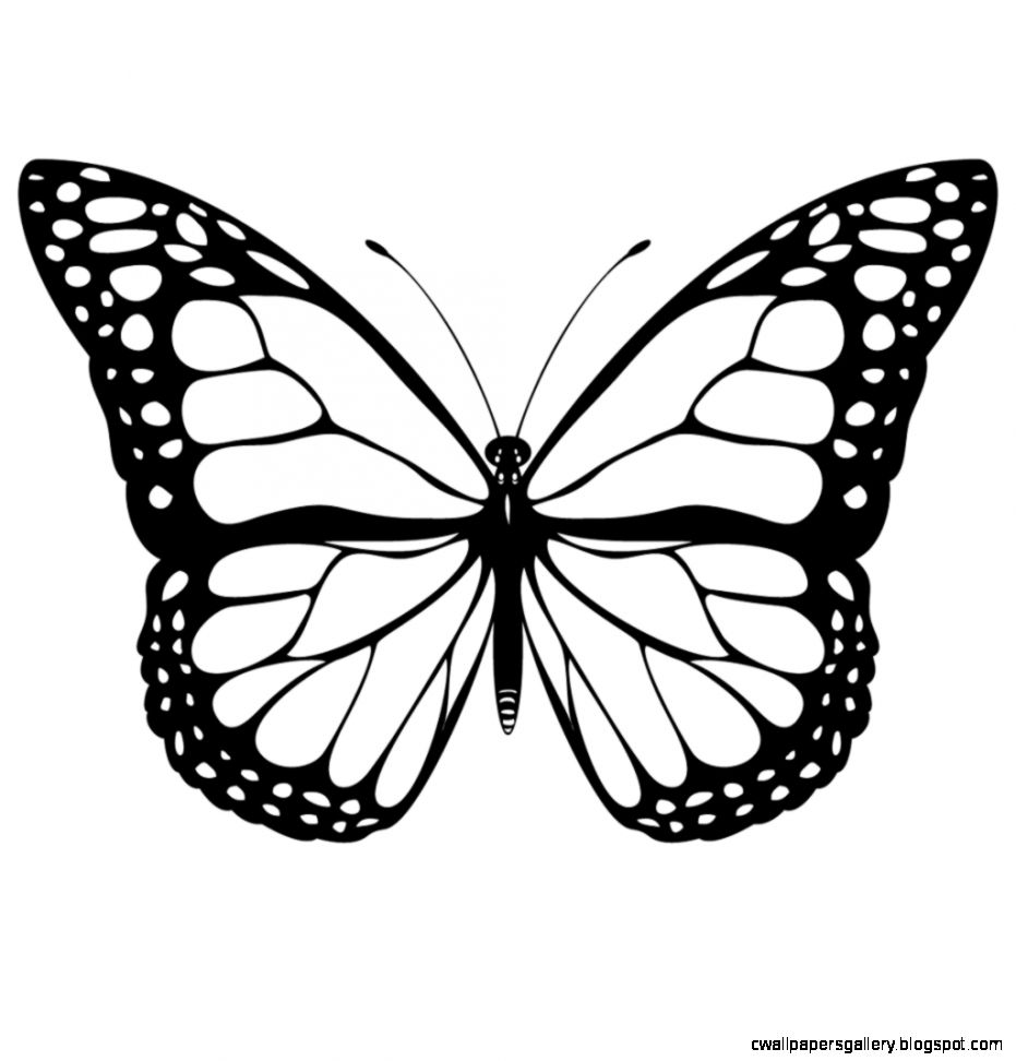 Black And White Coloring Pages
