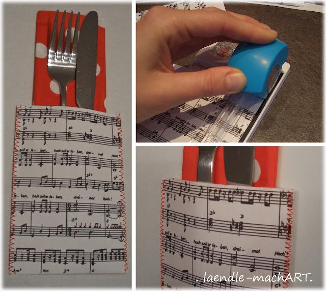 Besteck-Taschen nähen, DIY