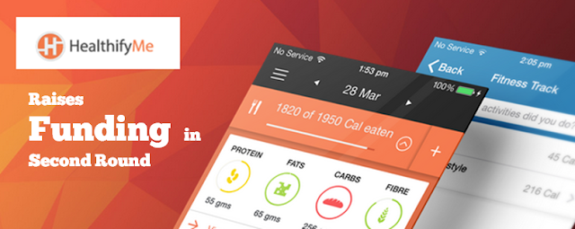 App fitness calorie tracker heathifyme