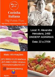 Cursos, Consultorias para Restaurantes e Workshops em Universidades