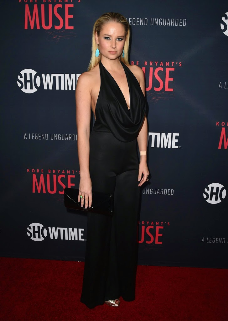 Fashion Model @ Genevieve Morton - 'Kobe Bryant's Muse' Premiere in West Hollywood